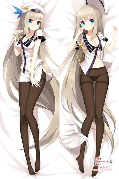 New Lexington - Warship Girls Anime Dakimakura Japanese Hugging Body Pillow Cover H3037