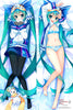 New Snow Hatsune Miku - Vocaloid Anime Dakimakura Japanese Hugging Body Pillow Cover H3075 - Anime Dakimakura Pillow Shop | Fast, Free Shipping, Dakimakura Pillow & Cover shop, pillow For sale, Dakimakura Japan Store, Buy Custom Hugging Pillow Cover - 1