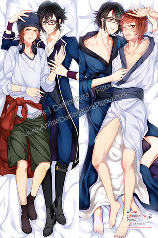 New K Project Male Anime Dakimakura Japanese Hugging Body Pillow Cover H3090 - Anime Dakimakura Pillow Shop | Fast, Free Shipping, Dakimakura Pillow & Cover shop, pillow For sale, Dakimakura Japan Store, Buy Custom Hugging Pillow Cover - 1