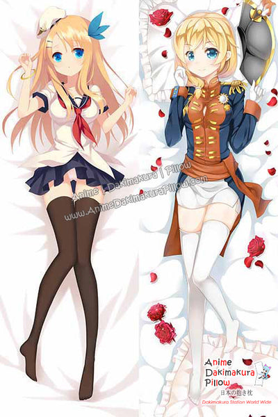 New Rodney and Saratoga - Warship Girls Anime Dakimakura Japanese Hugging Body Pillow Cover H3094 H3096 - Anime Dakimakura Pillow Shop | Fast, Free Shipping, Dakimakura Pillow & Cover shop, pillow For sale, Dakimakura Japan Store, Buy Custom Hugging Pillow Cover - 1