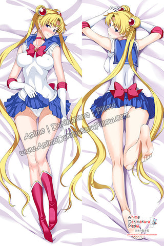 New Sailor Moon Anime Dakimakura Japanese Hugging Body Pillow Cover H3102 - Anime Dakimakura Pillow Shop | Fast, Free Shipping, Dakimakura Pillow & Cover shop, pillow For sale, Dakimakura Japan Store, Buy Custom Hugging Pillow Cover - 1