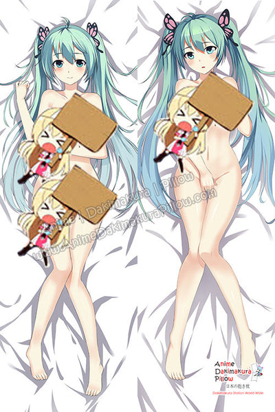 New Hatsunne Mikku - Vocalloid Anime Dakimakura Japanese Hugging Body Pillow Cover HH-3103