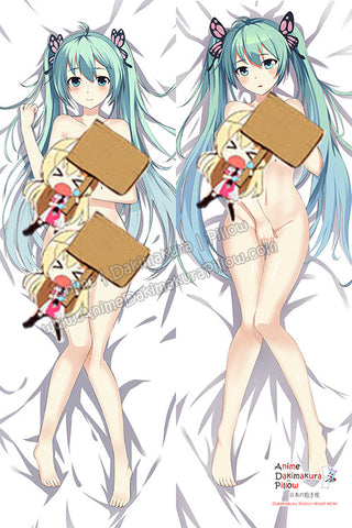 New Hatsunne Mikku - Vocalloid Anime Dakimakura Japanese Hugging Body Pillow Cover HH-3103 - Anime Dakimakura Pillow Shop | Fast, Free Shipping, Dakimakura Pillow & Cover shop, pillow For sale, Dakimakura Japan Store, Buy Custom Hugging Pillow Cover - 1