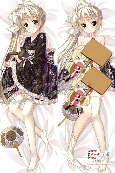 New Sora Kasugano - Yosuga no Sora Anime Dakimakura Japanese Hugging Body Pillow Cover H3118