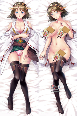 New Kantai Collection Anime Dakimakura Japanese Hugging Body Pillow Cover H3123b - Anime Dakimakura Pillow Shop | Fast, Free Shipping, Dakimakura Pillow & Cover shop, pillow For sale, Dakimakura Japan Store, Buy Custom Hugging Pillow Cover - 1
