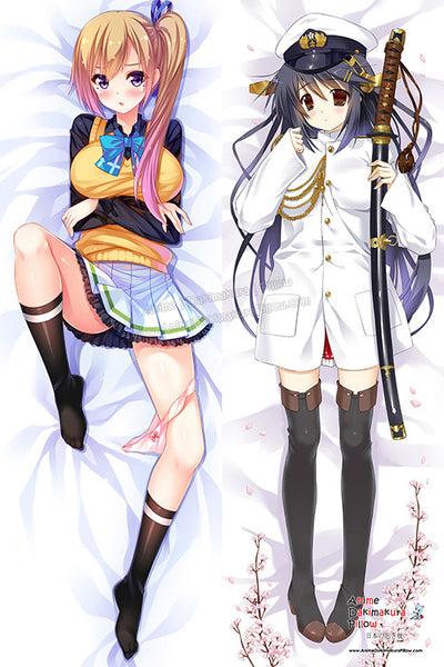 New Kantai Collection and Myriad Colors Phantom World Anime Dakimakura Japanese Hugging Body Pillow Cover H3137 H3134 - Anime Dakimakura Pillow Shop | Fast, Free Shipping, Dakimakura Pillow & Cover shop, pillow For sale, Dakimakura Japan Store, Buy Custom Hugging Pillow Cover - 1