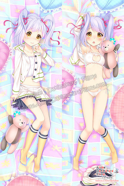 New Kurumi Kumamakura  - Myriad Colors Phantom World Anime Dakimakura Japanese Hugging Body Pillow Cover H3155 - Anime Dakimakura Pillow Shop | Fast, Free Shipping, Dakimakura Pillow & Cover shop, pillow For sale, Dakimakura Japan Store, Buy Custom Hugging Pillow Cover - 1