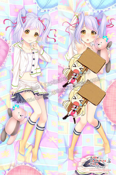 New Kurumi Kumamakura  - Myriad Colors Phantom World Anime Dakimakura Japanese Hugging Body Pillow Cover H3156 - Anime Dakimakura Pillow Shop | Fast, Free Shipping, Dakimakura Pillow & Cover shop, pillow For sale, Dakimakura Japan Store, Buy Custom Hugging Pillow Cover - 1