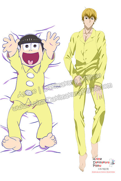 New Osomatsu-kun Male Anime Dakimakura Japanese Hugging Body Pillow Cover H3168 - Anime Dakimakura Pillow Shop | Fast, Free Shipping, Dakimakura Pillow & Cover shop, pillow For sale, Dakimakura Japan Store, Buy Custom Hugging Pillow Cover - 1
