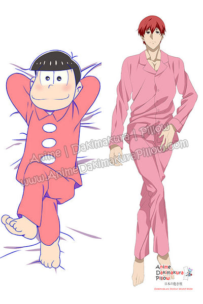 New Osomatsu-kun Male Anime Dakimakura Japanese Hugging Body Pillow Cover H3171 - Anime Dakimakura Pillow Shop | Fast, Free Shipping, Dakimakura Pillow & Cover shop, pillow For sale, Dakimakura Japan Store, Buy Custom Hugging Pillow Cover - 1