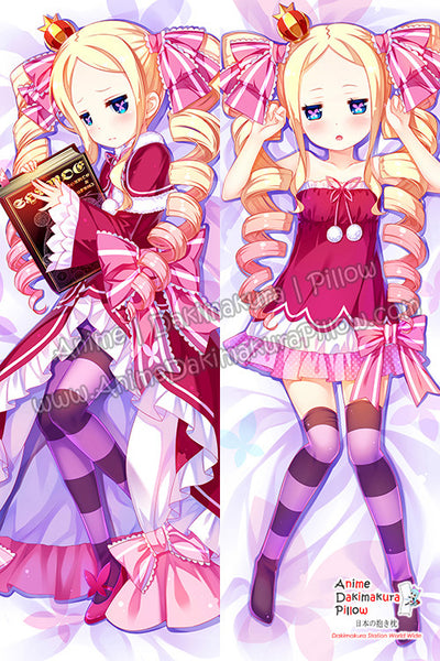 New Beatrice - Re Zero Anime Dakimakura Japanese Hugging Body Pillow Cover H3209 - Anime Dakimakura Pillow Shop | Fast, Free Shipping, Dakimakura Pillow & Cover shop, pillow For sale, Dakimakura Japan Store, Buy Custom Hugging Pillow Cover - 1