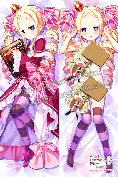 New Beatrice - Re Zero Anime Dakimakura Japanese Hugging Body Pillow Cover H3210 - Anime Dakimakura Pillow Shop | Fast, Free Shipping, Dakimakura Pillow & Cover shop, pillow For sale, Dakimakura Japan Store, Buy Custom Hugging Pillow Cover - 1