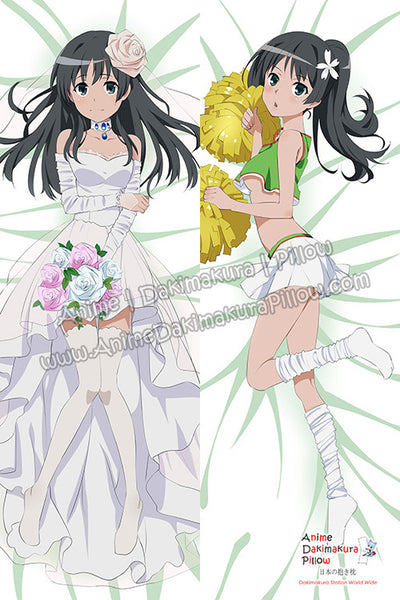 New Saten Ruiko - Toaru Majutsu no Index Anime Dakimakura Japanese Hugging Body Pillow Cover H3217