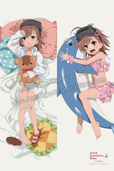 New A Certain Scientific Railgun - Mikoto Misaka Anime Dakimakura Japanese Hugging Body Pillow Cover H3219 - Anime Dakimakura Pillow Shop | Fast, Free Shipping, Dakimakura Pillow & Cover shop, pillow For sale, Dakimakura Japan Store, Buy Custom Hugging Pillow Cover - 1