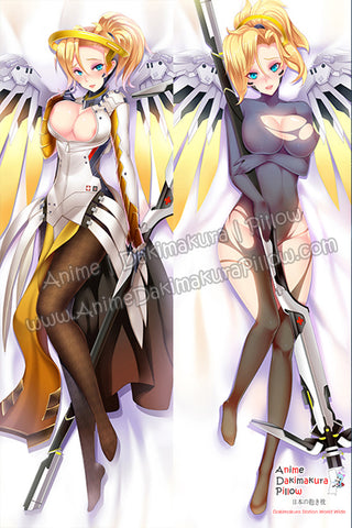 New Mercy - Overwatch Anime Dakimakura Japanese Hugging Body Pillow Cover H3261 H3248 - Anime Dakimakura Pillow Shop | Fast, Free Shipping, Dakimakura Pillow & Cover shop, pillow For sale, Dakimakura Japan Store, Buy Custom Hugging Pillow Cover - 1
