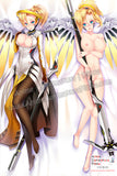 New Mercy - Overwatch Anime Dakimakura Japanese Hugging Body Pillow Cover H3249 - Anime Dakimakura Pillow Shop | Fast, Free Shipping, Dakimakura Pillow & Cover shop, pillow For sale, Dakimakura Japan Store, Buy Custom Hugging Pillow Cover - 2