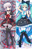 New Hatsune Miku Vocaloid and Kagari Rewrite Anime Dakimakura Japanese Hugging Body Pillow Cover H3333-B H3334-B - Anime Dakimakura Pillow Shop | Fast, Free Shipping, Dakimakura Pillow & Cover shop, pillow For sale, Dakimakura Japan Store, Buy Custom Hugging Pillow Cover - 1