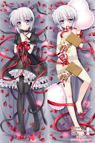 New Kagari - Rewrite Anime Dakimakura Japanese Hugging Body Pillow Cover H3333-B - Anime Dakimakura Pillow Shop | Fast, Free Shipping, Dakimakura Pillow & Cover shop, pillow For sale, Dakimakura Japan Store, Buy Custom Hugging Pillow Cover - 1