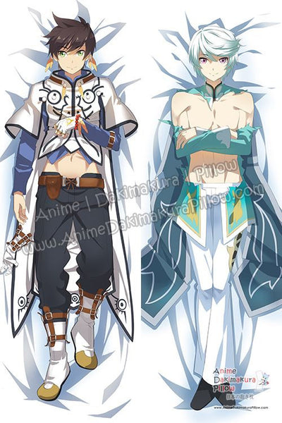 New Tales of Zestiria Male Anime Dakimakura Japanese Hugging Body Pillow Cover H3340