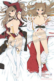 New Senran Kagura Anime Dakimakura Japanese Hugging Body Pillow Cover H3351
