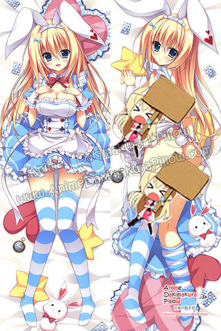 New-Maid-Bunny-Anime-Dakimakura-Japanese-Hugging-Body-Pillow-Cover-H3399