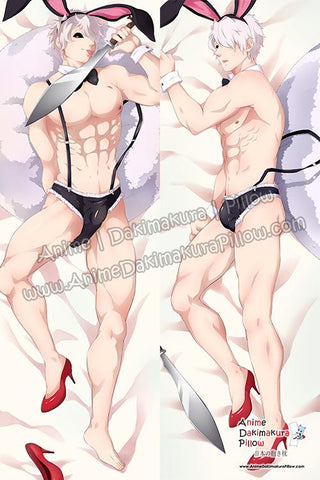 New-Usagi-Juuni-Taisen-Male-Anime-Dakimakura-Japanese-Hugging-Body-Pillow-Cover-H3665