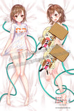 New Misaka Mikoto - Toaru Majutsu no Index Anime Dakimakura Japanese Hugging Body Pillow Cover H3723-B