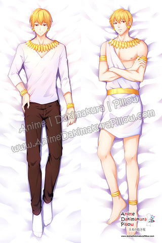 New Gilgamesh - Fate Male Anime Dakimakura Japanese Hugging Body Pillow Cover H3748