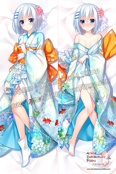 New Tobiichi Origami - Date A Live Anime Dakimakura Japanese Hugging Body Pillow Cover H3763-A