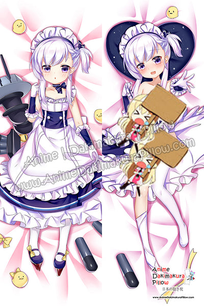 New Belfast - Azur Lane Anime Dakimakura Japanese Hugging Body Pillow Cover H3813-B