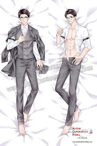 New Guardian Male Anime Dakimakura Japanese Hugging Body Pillow Cover H3846