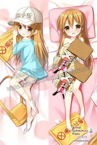 New-Platelet-Cells-at-Work!-Anime-Dakimakura-Japanese-Hugging-Body-Pillow-Cover-H3855-B