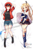 New-Red-Blood-Cell-Cells-at-Work-and-Cleveland-Azur-Lane-Anime-Dakimakura-Japanese-Hugging-Body-Pillow-Cover-H3873-B-H3874-B