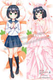 New Akari Amano - Ms. Vampire who lives in my neighborhood Anime Dakimakura Japanese Hugging Body Pillow Cover H3892-A