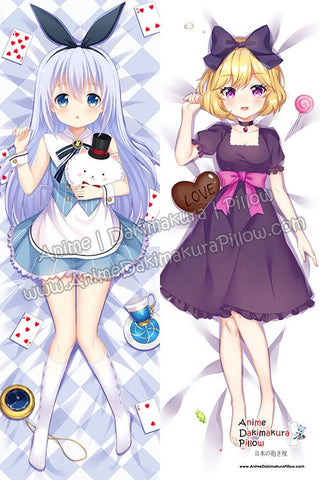 ADP-Chino-Kafuu-Is-the-Order-a-Rabbit-and-Ellie-Ms-Vampire-who-lives-in-my-neighborhood-Anime-Dakimakura-Japanese-Hugging-Body-Pillow-Cover-H3916-B-H3917-B