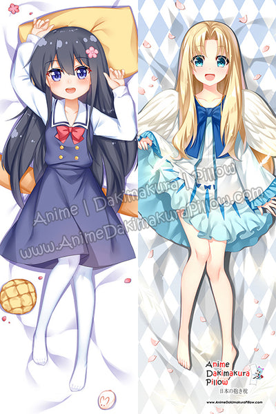 ADP Hana Shirosaki -  Wataten! An Angel Flew Down to Me and Filo - The Rising of the Shield Hero Anime Dakimakura Japanese Hugging Body Pillow Cover H3930-B H3929-B