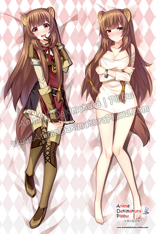ADP Raphtalia - The Rising of the Shield Hero Anime Dakimakura Japanese Hugging Body Pillow Cover H3935-A