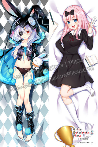 ADP Yoshino - Date A Live and Chika Fujiwara - Kaguya-sama Love Is War Anime Dakimakura Japanese Hugging Body Pillow Cover H3938-B H3939-B