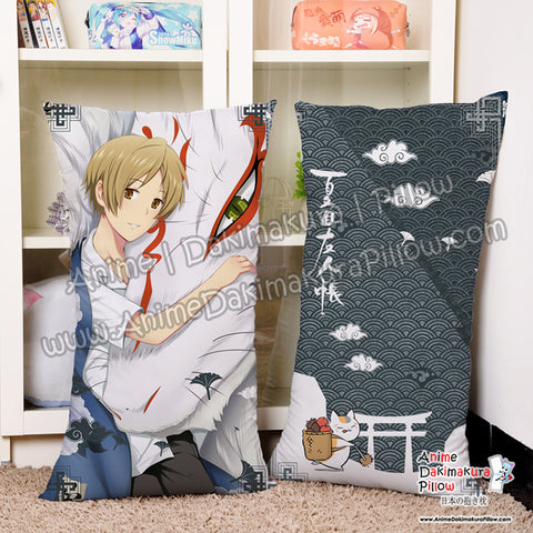 New Natsume Yuujinchou - Natsume's Book of Friends Male Anime Dakimakura Rectangle Pillow Cover H5000004