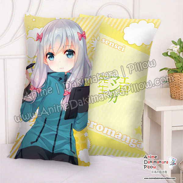 New Sagiri Izumi - Eromanga Sensei Anime Dakimakura Rectangle Pillow Cover H5000007