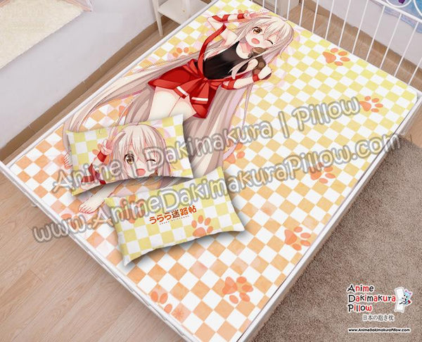 New-Chiya--Urara-Meirochou-Japanese-Anime-Bed-Blanket-or-Duvet-Cover-with-Pillow-Covers-H6000008-A