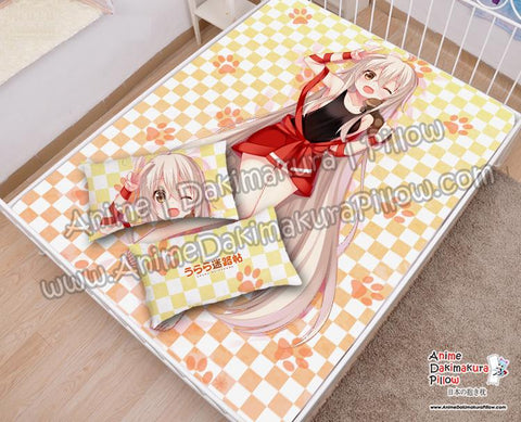 New-Chiya--Urara-Meirochou-Japanese-Anime-Bed-Blanket-or-Duvet-Cover-with-Pillow-Covers-H6000008-B