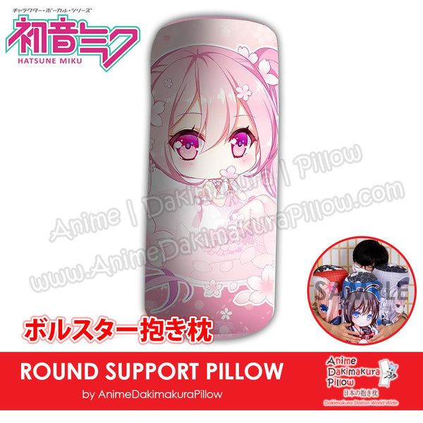 New-Hatsune-Miku-Vocaloid-Japanese-Anime-Comfort-Neck-and-Support-Mini-Round-Roll-Bolster-Dakimakura-Pillow-H800071