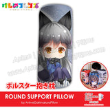 New-Gingitsune-Kemono-Friends-Japanese-Anime-Comfort-Neck-and-Support-Mini-Round-Roll-Bolster-Dakimakura-Pillow-H800091