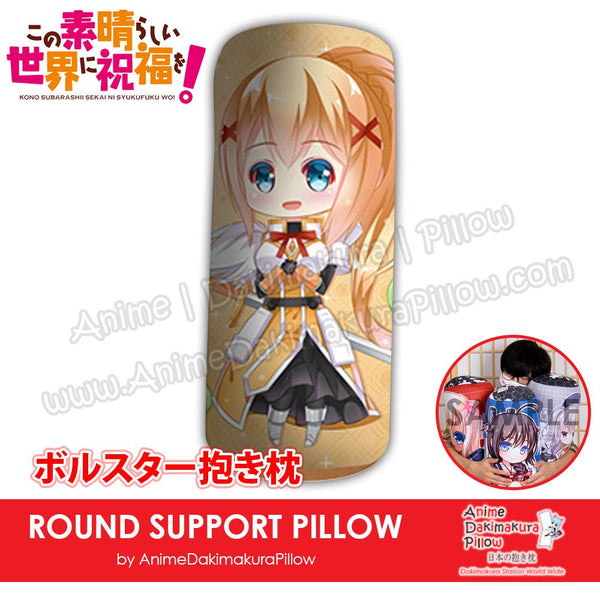 New-Darkness-Konosuba-Japanese-Anime-Comfort-Neck-and-Support-Mini-Round-Roll-Bolster-Dakimakura-Pillow-H800100