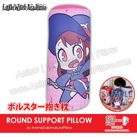New-Atsuko-Kagari-Little-Witch-Academia-Japanese-Anime-Comfort-Neck-and-Support-Mini-Round-Roll-Bolster-Dakimakura-Pillow-H800101