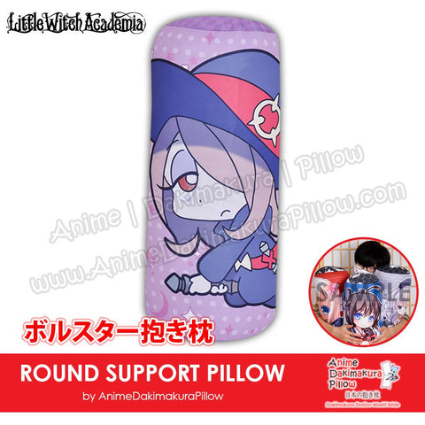 New-Sucy-Manbavaran-Little-Witch-Academia-Japanese-Anime-Comfort-Neck-and-Support-Mini-Round-Roll-Bolster-Dakimakura-Pillow-H800105
