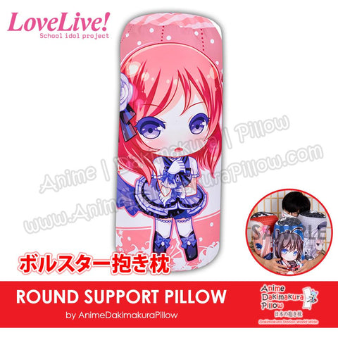 New-Maki-Nishikino-Love-Live!-Japanese-Anime-Comfort-Neck-and-Support-Mini-Round-Roll-Bolster-Dakimakura-Pillow-H800110