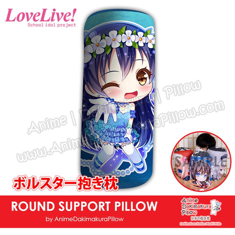 New-Umi-Sonoda-Love-Live!-Japanese-Anime-Comfort-Neck-and-Support-Mini-Round-Roll-Bolster-Dakimakura-Pillow-H800122