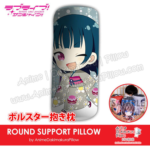 New-Yoshiko-Tsushima-Love-Live!-Sunshine!!-Japanese-Anime-Comfort-Neck-and-Support-Mini-Round-Roll-Bolster-Dakimakura-Pillow-H800131